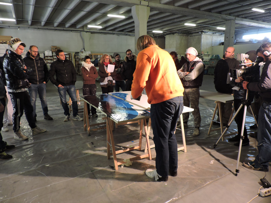 Workshop resine decorative