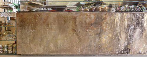 Bancone bar in resina decorativa