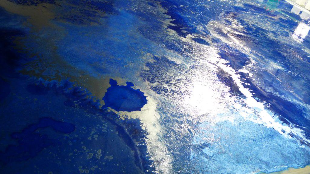 Realizzazione pavimento in resina