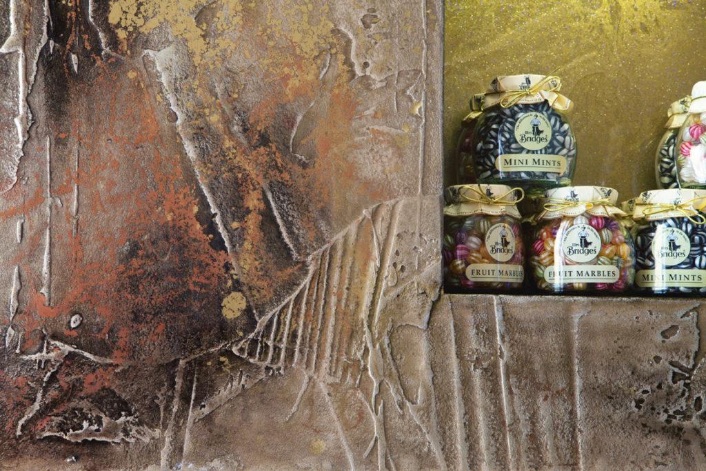 Resina spatolato decorazione